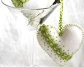 Heart Felt Apple Green Tinni For Me Please...Lavender Bud Sachets