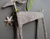 Promotion Sale Enchanted Glitter Reindeer Ornament-Object