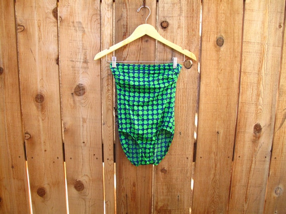1970s vintage LANZ LiTTLe APPLe BATHING SUIT xs / s