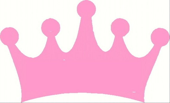 Diy Princess Prince Crown Applique Template