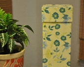 Reusable 'Paper' Towels & Storage Box - French Kitchen - Yellow/Blue