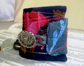 Colorful piece-of-art Cuff