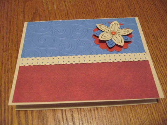 Greeting Cards, Set of 6 - Blank for any occasion