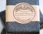 Activated Charcoal Soap Bars For Acne - Handmade Soap - 2 Soap Bars