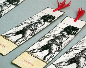 Bookmark, Evolve, Letterpress