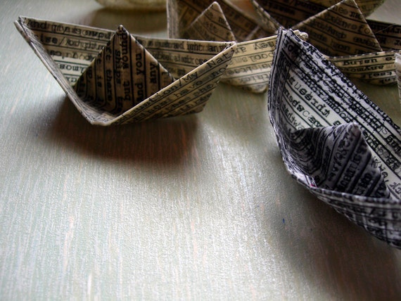 Wishful Paper Boats, group of seven