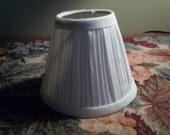 DESTASH  SIX lamp shades for mason jar lights