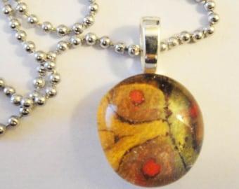 Glass Drop Pendant Necklace (37)