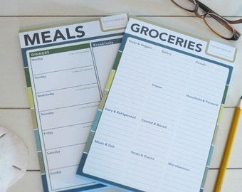 Meal Planning Notepad Set