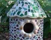 Bird House Mosaic Fairy Garden...20% OFF