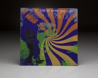 Screen printed music art- James Blunt
