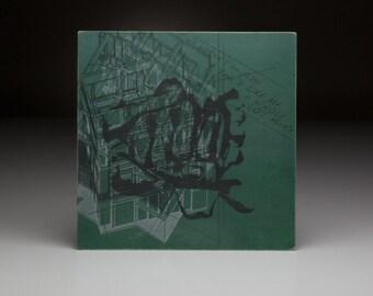 Screen printed music art- U2