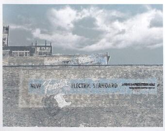 Urban decay graffiti print- screen printed, limited edition