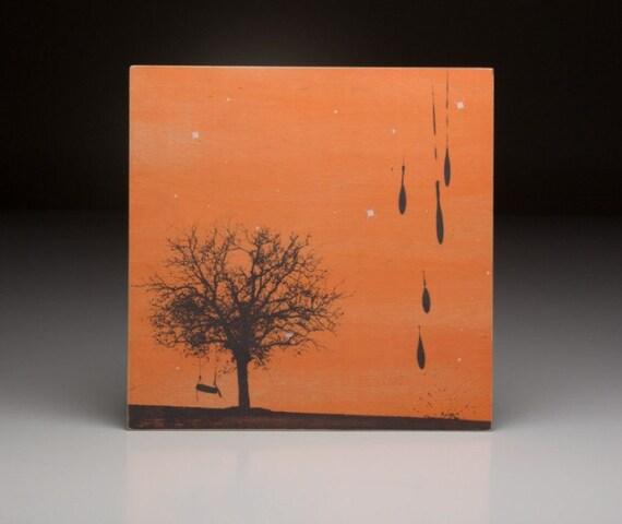 Screen printed music art- Dave Matthews Band