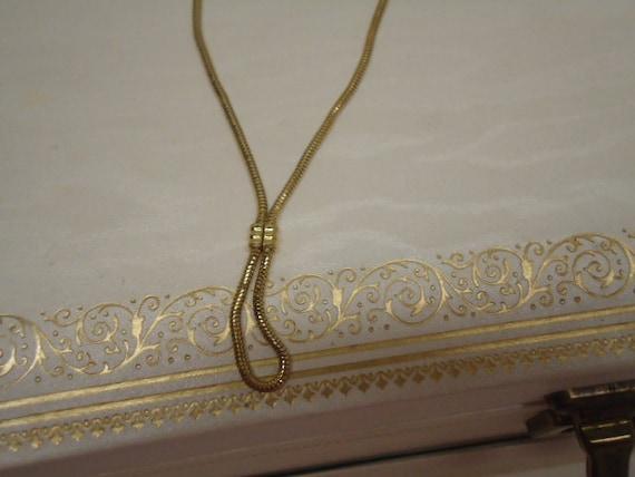 Vintage Necklace Bracelet Avon Silky Smooth Demi Set Jewelry