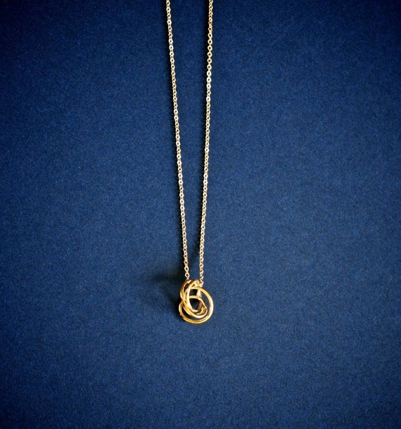 Petite Brass Necklace
