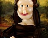 """Mona Lisa 5"""" x 7"""" Note Card"""