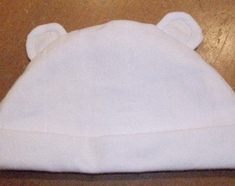 Super Soft Bear Ears Infant Hat 3-9months