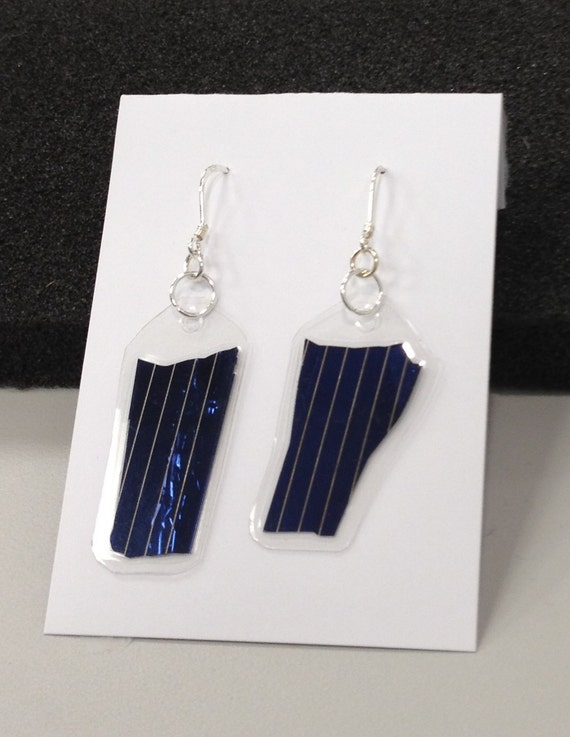 Solar Panel Dangle Earrings
