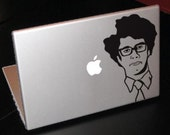 Maurice Moss, The IT Crowd Decal/ sticker for laptop/ macbook