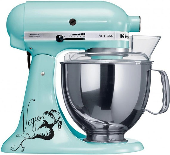 Vegan Beet Love appliance/ mixer Decal Kitchen