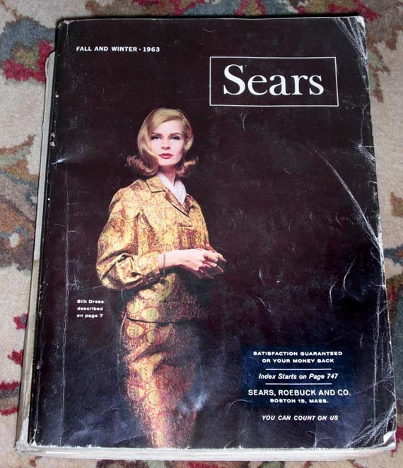 1963 - Complete Winter and Fall Sears Catalog - 1645 pages.