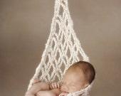 Dazzling Diamonds Newborn Stork Sack Crochet Pattern (514)