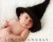Witch's or Wizard's Hat Crochet Pattern (496)