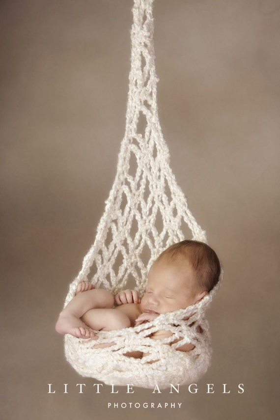 Dazzling Diamonds Newborn Stork Sack Crochet Pattern (514)
