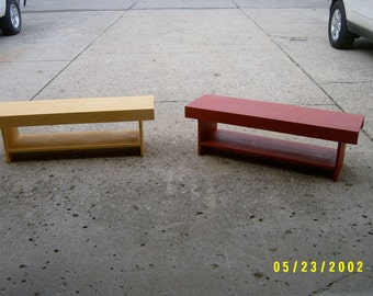 wood bench farmhouse style recycled tv stand childs bench coffee table