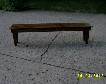 "wooden bench,72"" recycled matrial, space underneath for boots and shoes, custom made"