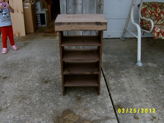 wooden bench shoe benchknick knack bench tv stand  recycled material
