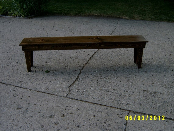 """wooden bench,72"""" recycled matrial, space underneath for boots and shoes, custom made"""