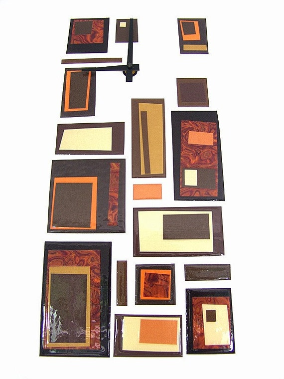 Modern Abstract Wall Clock
