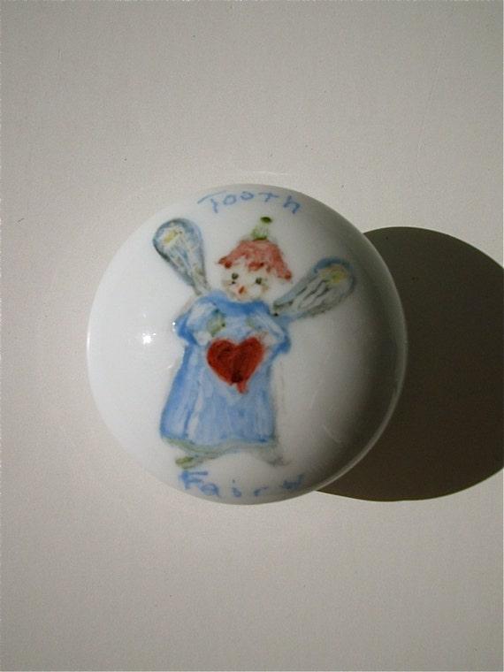 Ceramic Porcelain tooth fairy box