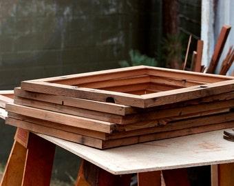Custom Reclaimed Wood Frames