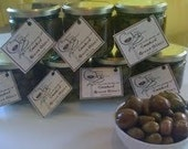 Smoked Green Olives