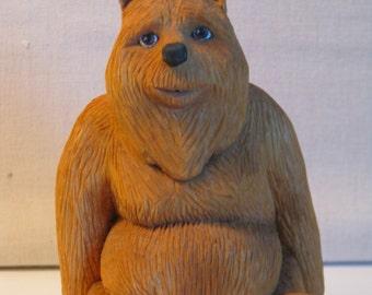 Handcarved bear