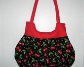 Cherry Lover Curvy Bag