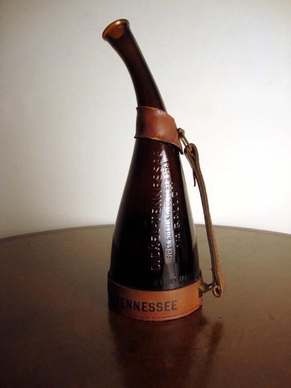 1960s Vintage Dickel Tennessee Whiskey Souvenir Bottle