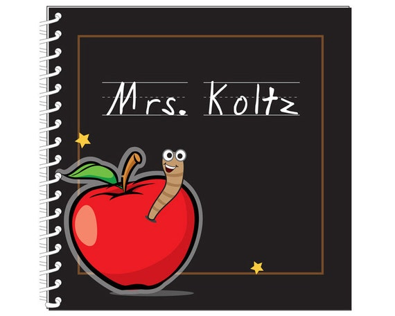 Apple for Teacher Journal/Notebook