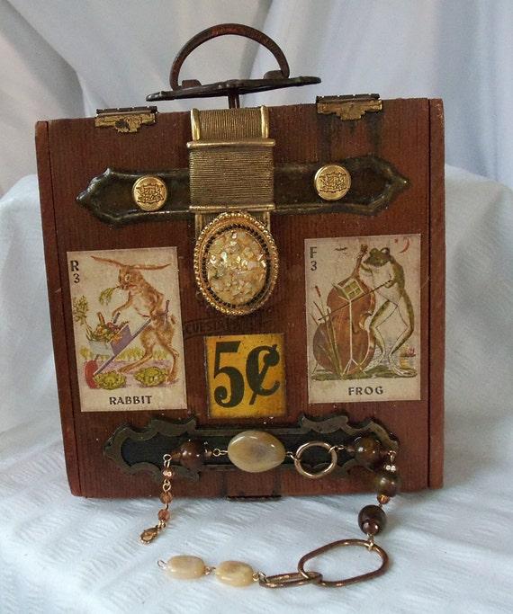 Box Purse Retro Wooden Handbag Vintage By Hopscotchcouture On Etsy