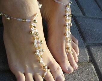 Fairy beaded shoes