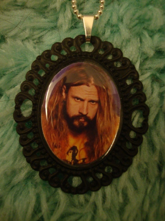 Rob Zombie Cameo Necklace