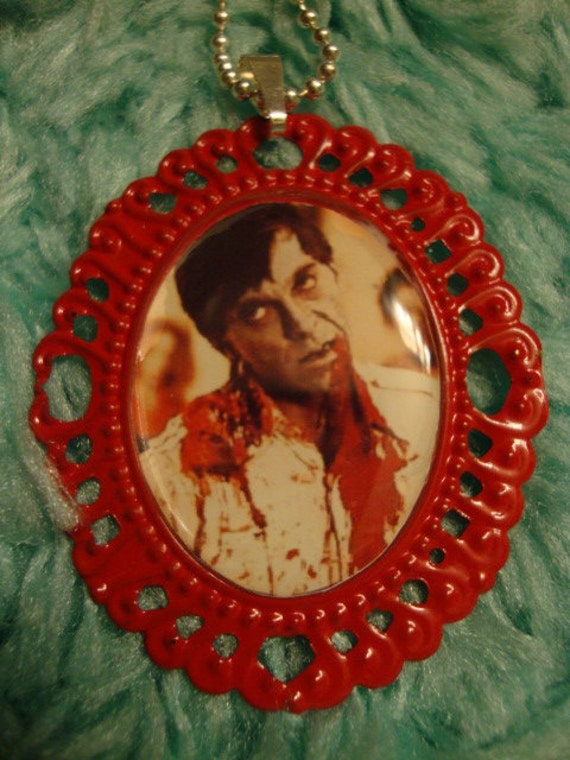 Dawn of the Dead Cameo Necklace