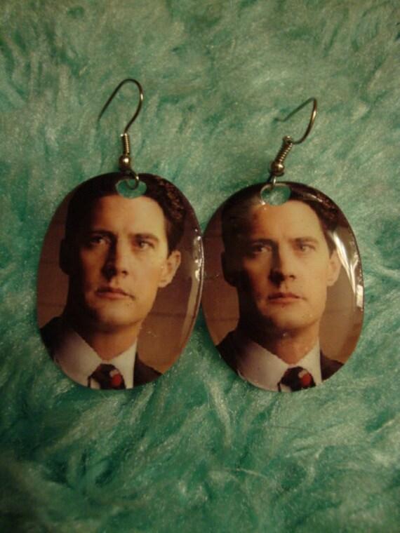 Twin Peaks Dale Cooper Earrings