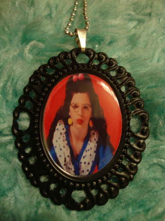 Welcome to the Dollhouse Cameo Necklace