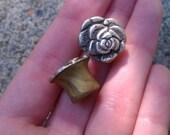 00 Silver Rose Plugs.