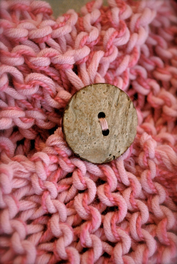 Add a Button to any toddler scarf, baby scarf