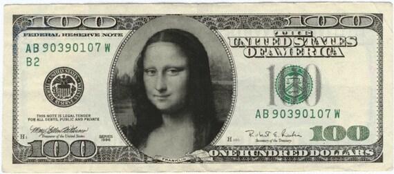 Funny money 100 dollar novelty gag gift men's women's